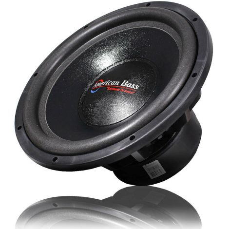"American Bass 15"" Subwoofer 3000W Max Dual 4 Ohm Car Audio TITAN 1544 Single"