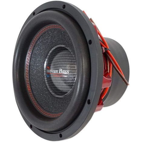 "American Bass HAWK 1244 12"" 3000w Peak/1500w RMS Car Subwoofer w/Cooling Ring"