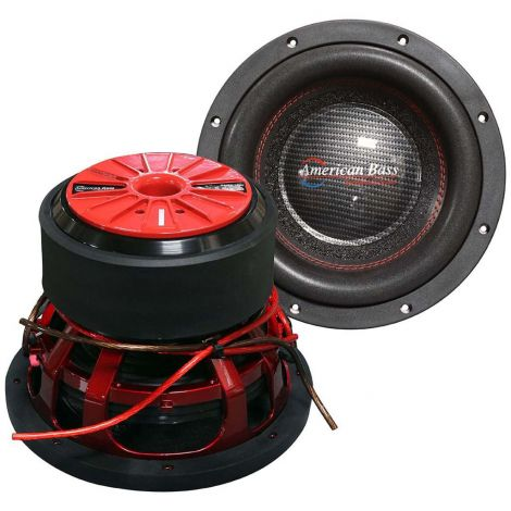 "American Bass HAWK1044 Hawk 10"" Woofer Dual 4 Ohm"
