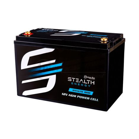 Stealth 1000 (12V1000AH) Up To 2500 Watt Amplifiers