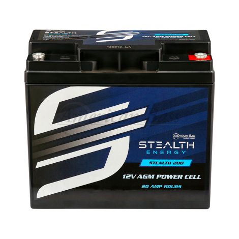 STEALTH 200 (12V20AH) Up To 700 Watt Amplifiers