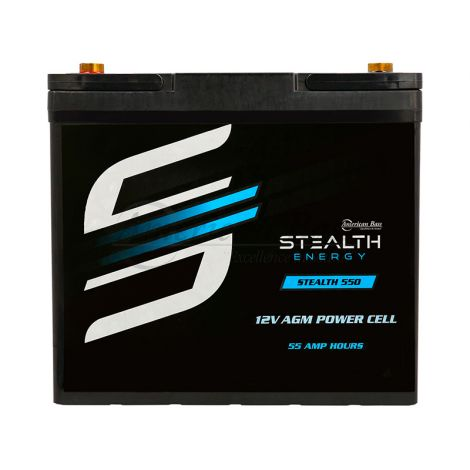 STEALTH 550 (12V55AH) Up To 1500 Watts Amplifiers