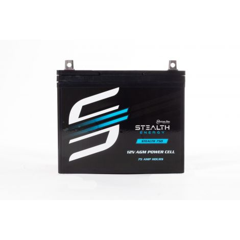 STEALTH 750 (12V75AH) Up To 1800 Watt Amplifiers