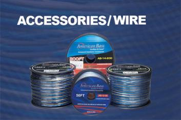Accessories / Wires