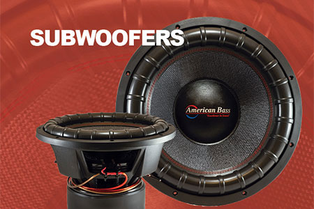 High End Car Audio Subwoofers Amplifiers American Bass Usa
